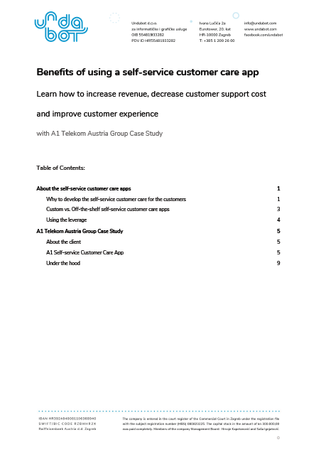 Benefits of Using a Self-Service Customer Care App