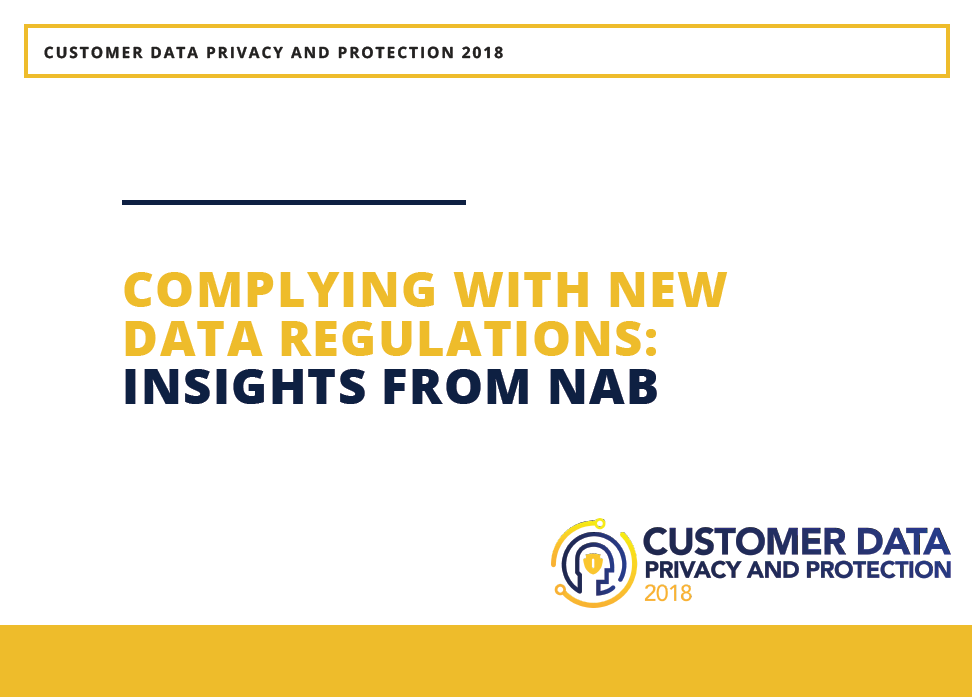 Article: Complying with new data regulations: Insights from NAB