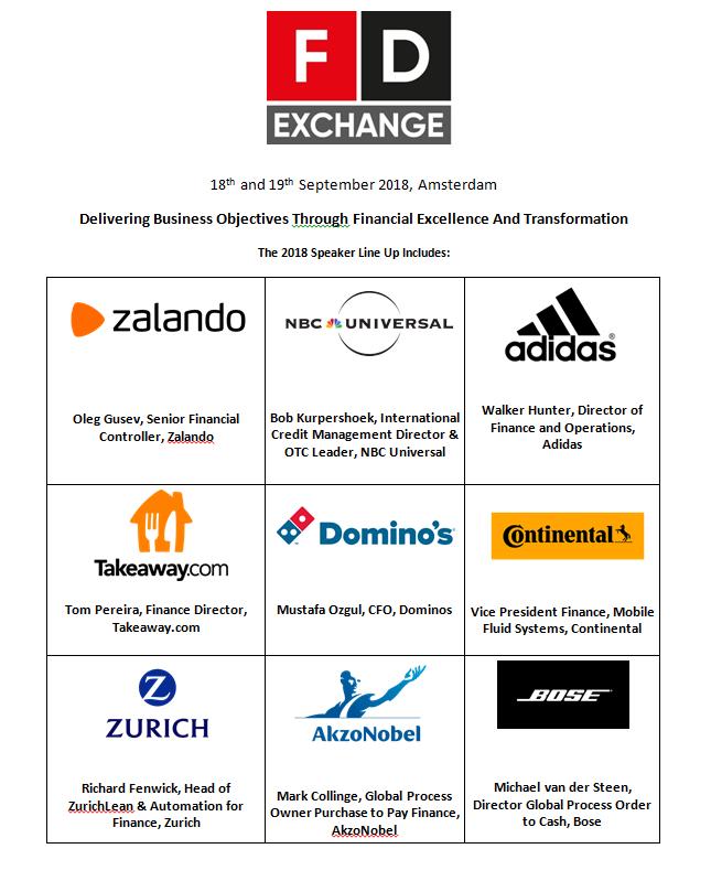 Download the 2018 Finance Director Exchange Agenda