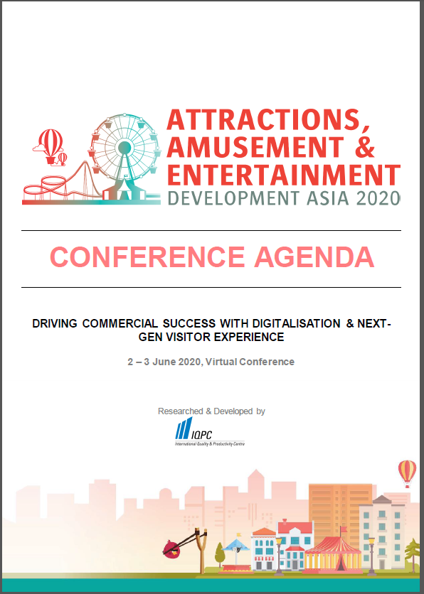 View the Attractions, Amusement & Entertainment Development Asia 2020 Online Event Agenda