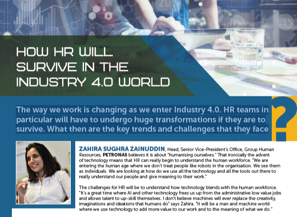 How HR will survive in the industry 4.0 World