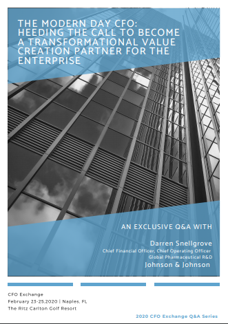 Exclusive Q&A - The Modern Day CFO: Becoming a Transformational Value Creation Partner for the Enterprise