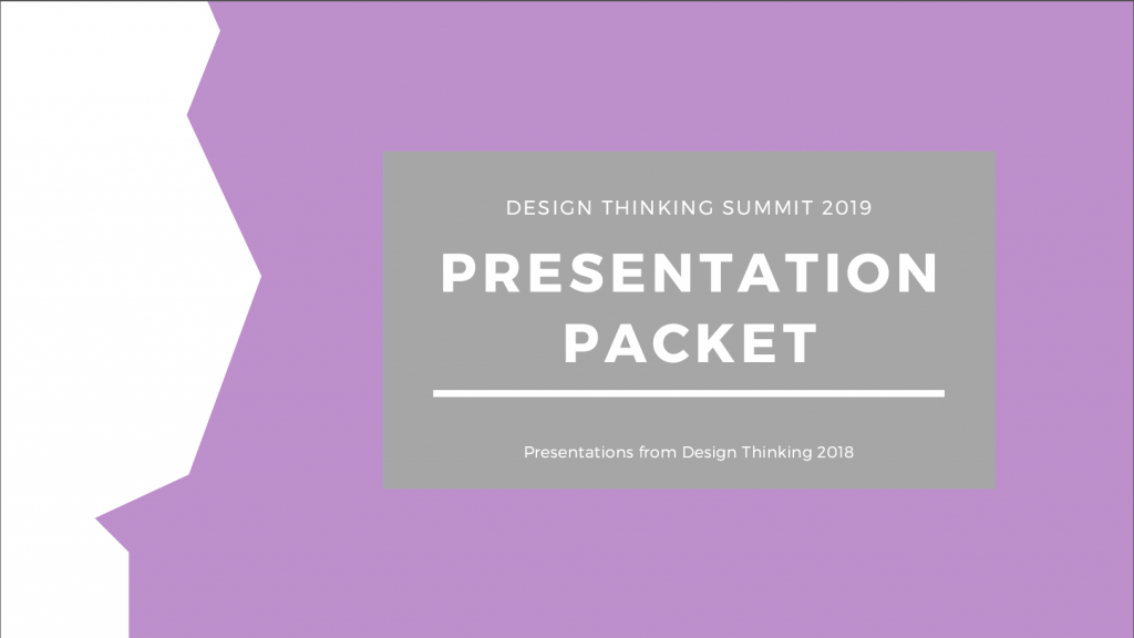 Past Presentation Packet