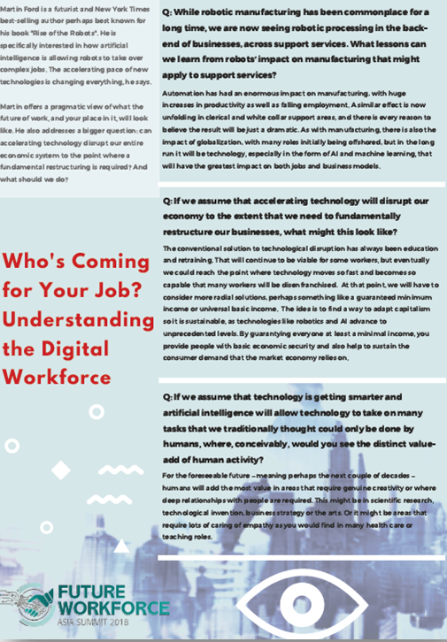 Who's Coming for Your Job? Understanding the Digital Workforce