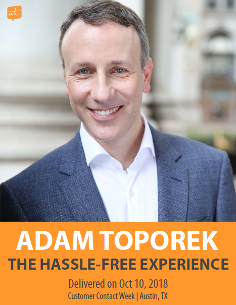 Presentation: The Hassle-Free Experience— Paving the Path for Positive Customer Journeys
