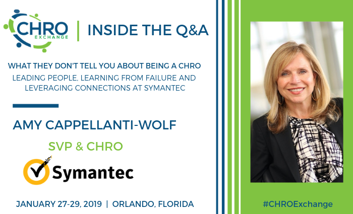 Q&A with Amy Capellenti-Wolf, SVP and CHRO, Symantec