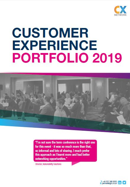 The 2019 Customer Experience Portfolio: Business Development Pack