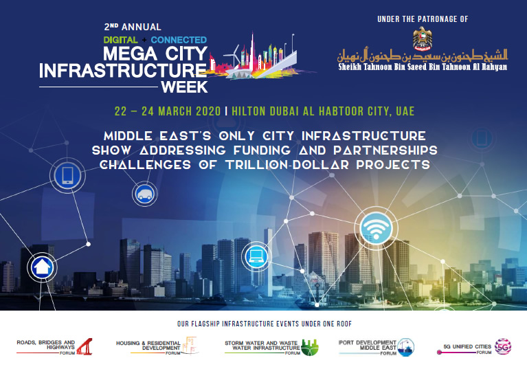 Show Guide - Mega City Infrastructure Week 2020