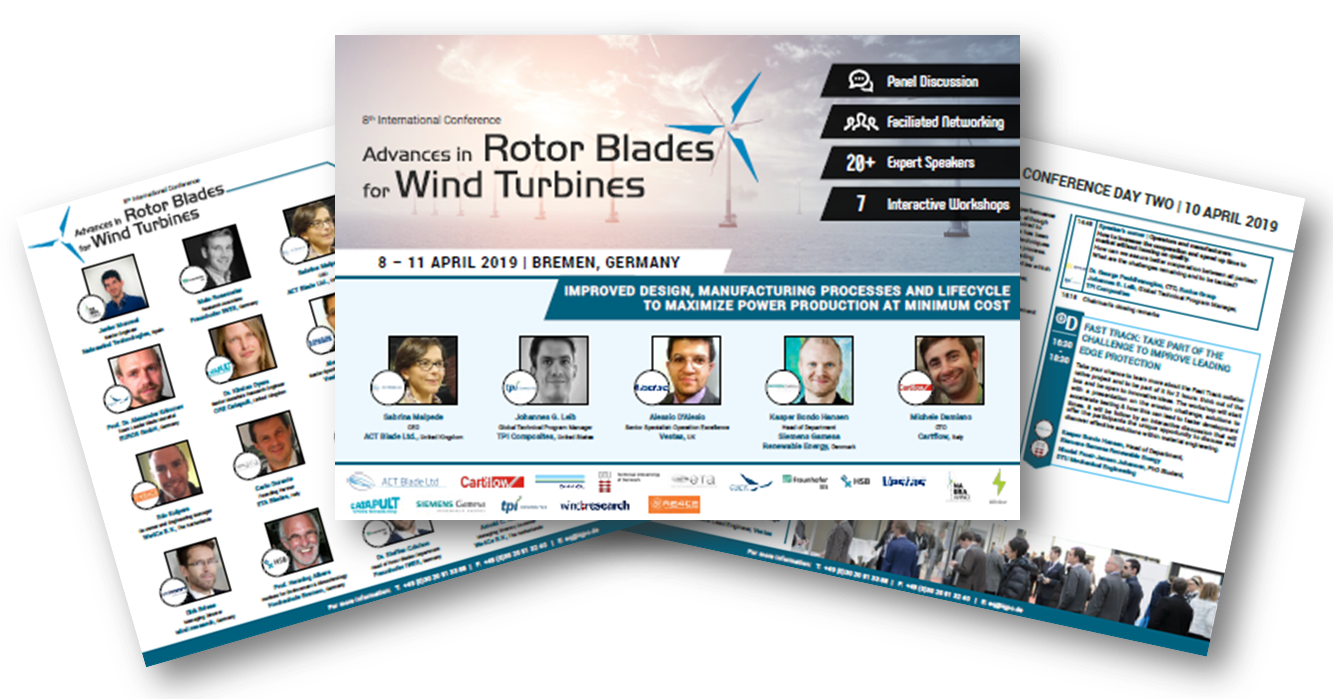 Get the Latest Agenda for the Advances in Rotor Blades International Conference