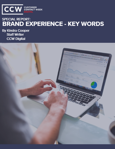 CCW Digital Special Report - Brand Experience: Key Words