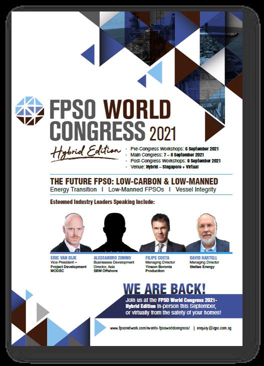 View Agenda - FPSO World Congress 2021 - Hybrid Edition