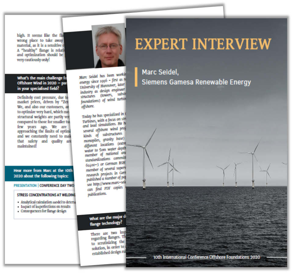 Expert Interview with Siemens on Developments in Flange Technology