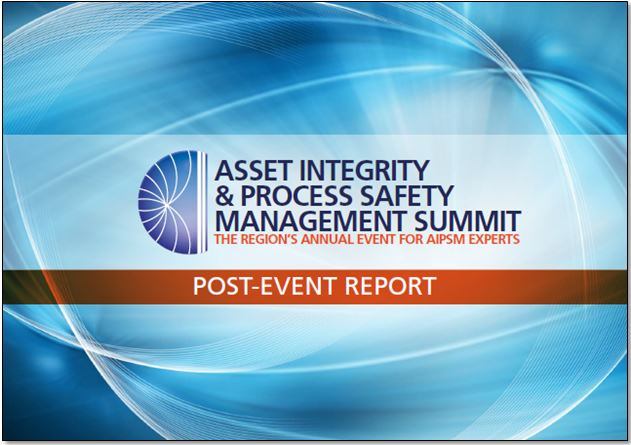 Post-event report: 13th Annual Asset Integrity Management Summit