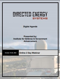 Directed Energy Systems 2020 Fall Agenda