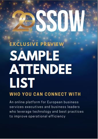 SSOW Europe 2020 - List of Attendees