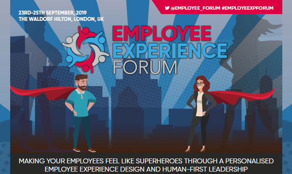 Employee Experience Forum 2019 - Discover the Agenda