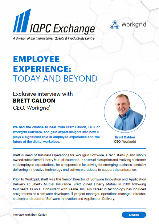 Employee Experience: Today & Beyond