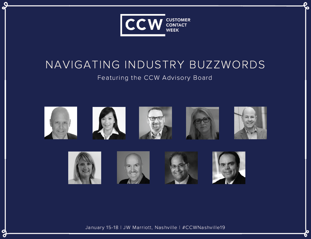 CCW Nashville Report: Navigating Customer Contact Buzzwords