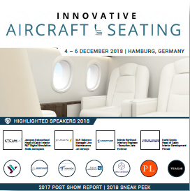 Partner Content: Sneak Peek and Report - Innovative Aircraft Seating 2018