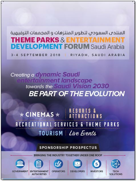Sponsorship Prospectus – Theme Parks and Entertainment Development Forum Saudi Arabia