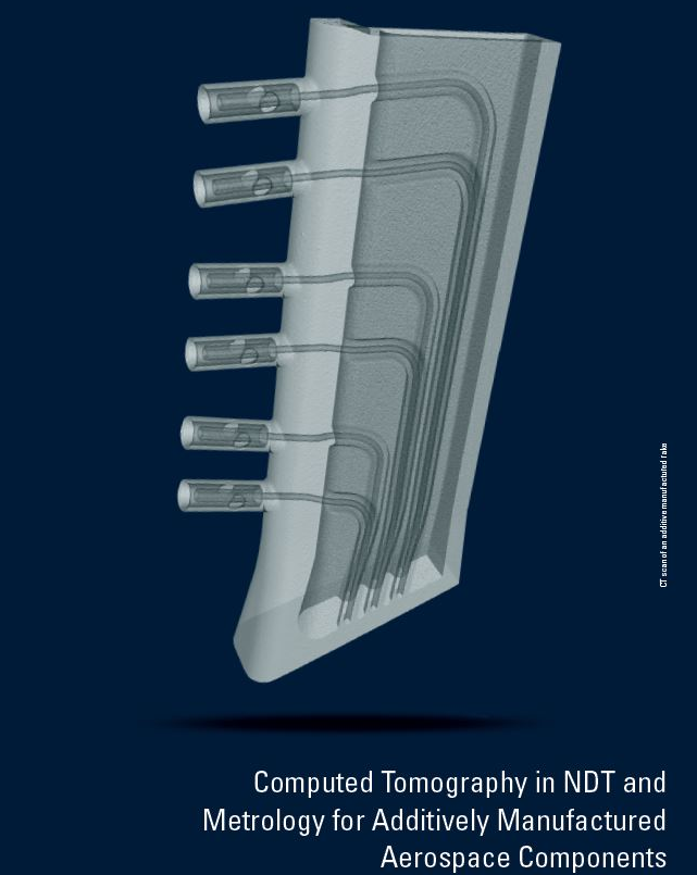 Computed Tomography in NDT and Metrology for Additively Manufactured Aerospace Components