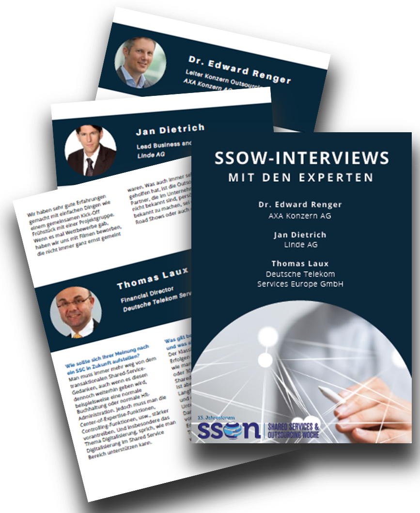 Experteninterviews zu Shared Services & Outsourcing 2018