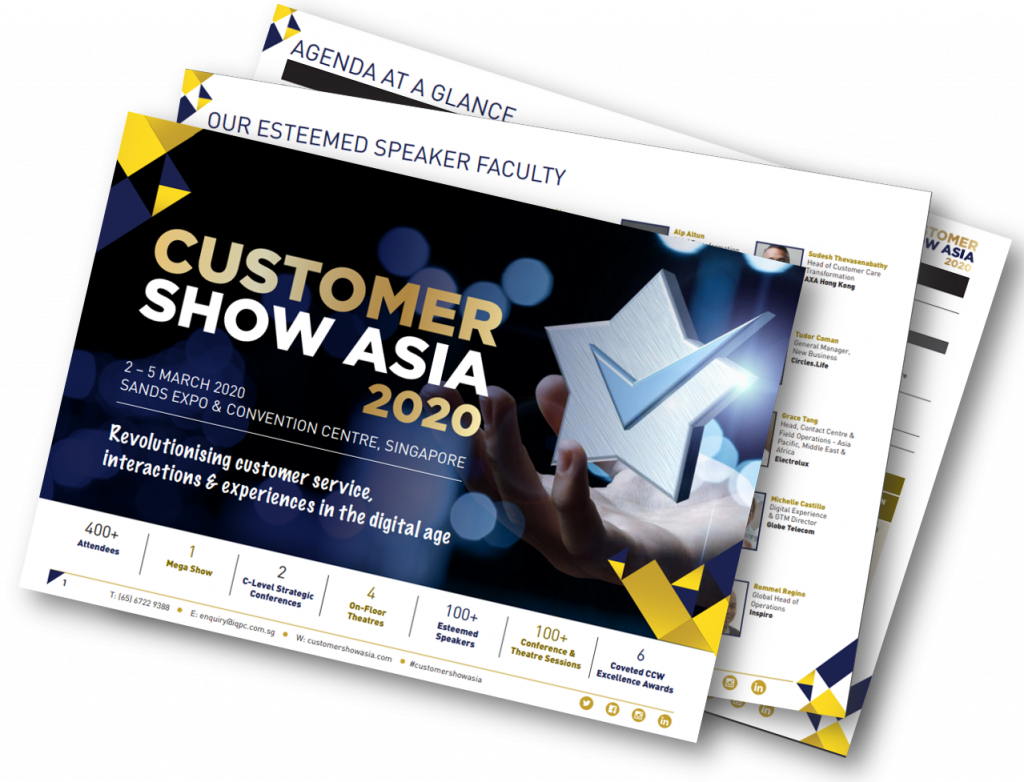 Customer Show Asia Brochure