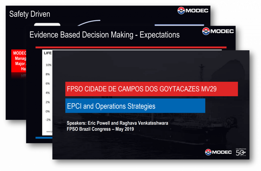 Reviewing EPCI and Operations Strategies in MODEC's FPSO Cidade de Campos dos Goytacazes MV29