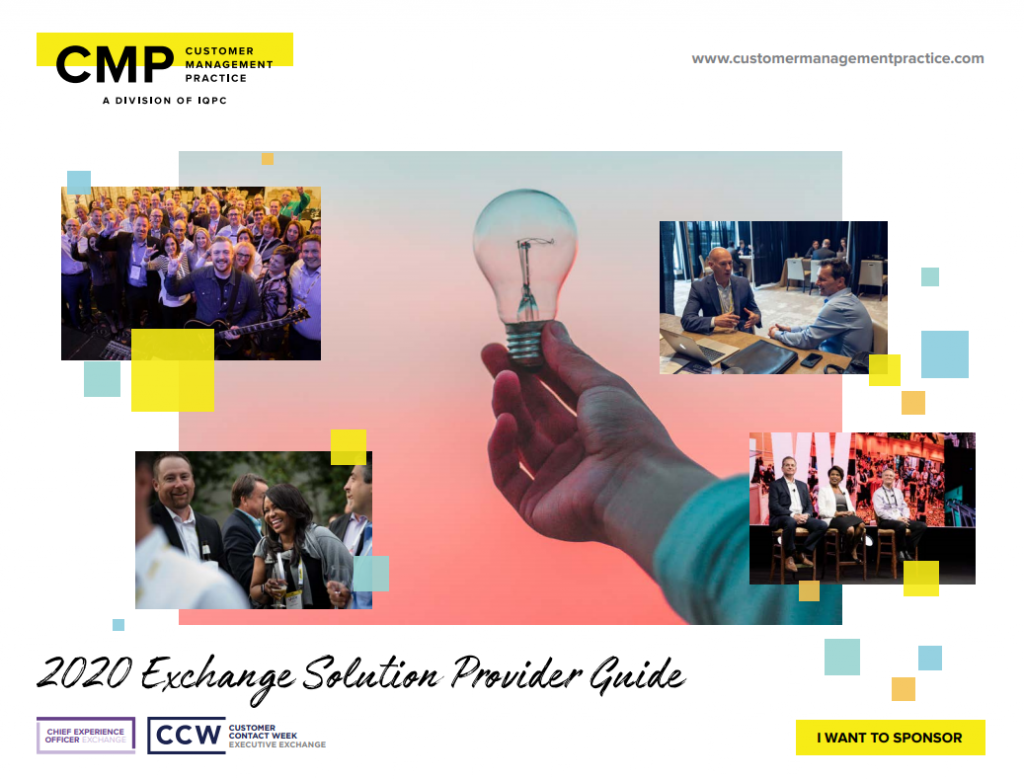 Chief Experience Officer Solution Providers Guide