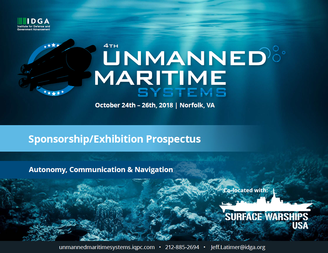 Unmanned Maritime Systems - Sponsorship Prospectus