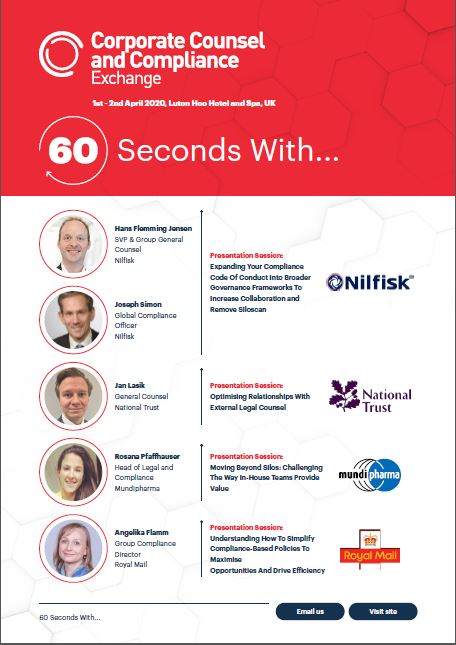 60 Seconds With...