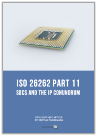 Article: Technological considerations for the semiconductor industry to consider implementation of ISO 26262 Part 11