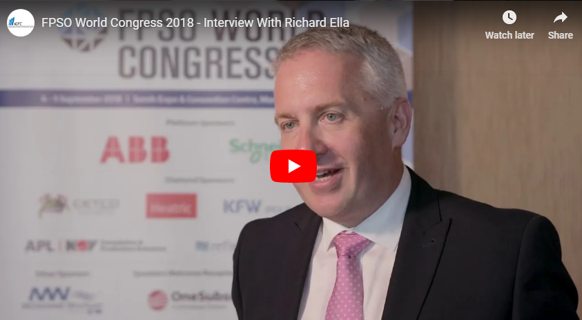FPSO World Congress 2018 - Interview With Richard Ella From SBM Offshore