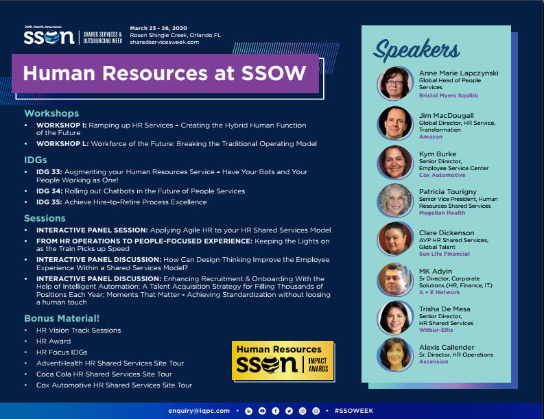 Human Resources at SSOW