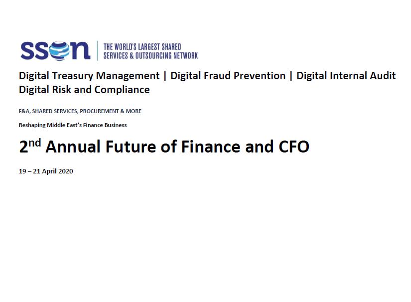2020 Agenda Preview: Future of Finance and CFO Summit