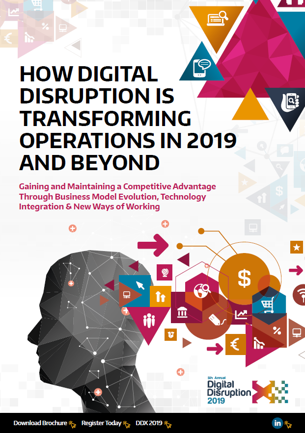How Digital Disruption is Transforming Operations in 2019 and Beyond