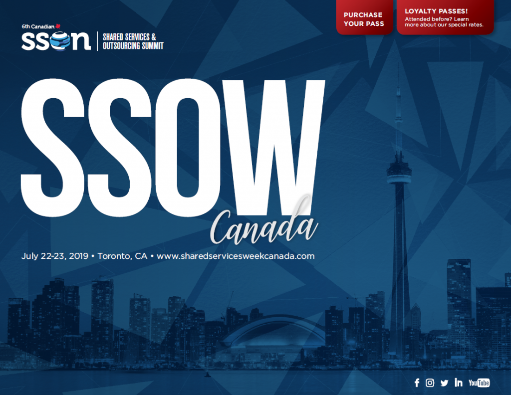 Shared Services & Outsourcing Summit Canada 2019 Agenda