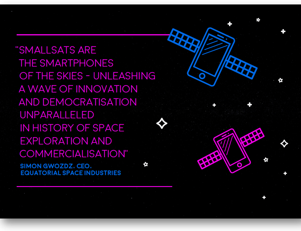 Why small satellites are the smartphones of the skies