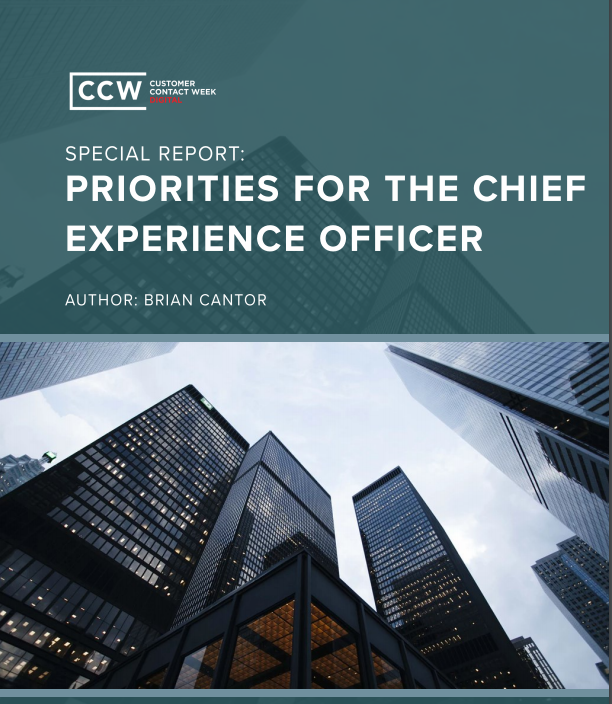 Priorities for the Chief Experience Officer