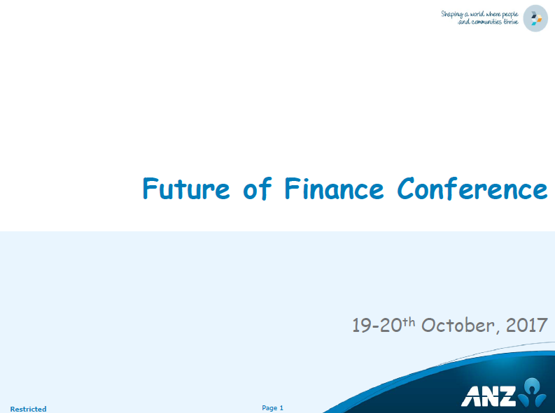 ANZ Case Study: New Ways of Working - Transforming Finance Through People, Process & Technology