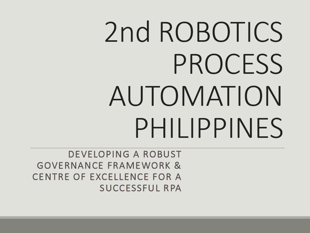 Developing a robust RPA governance & operating model framework for long-term sustainability