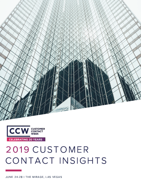 2019 Customer Contact Insights