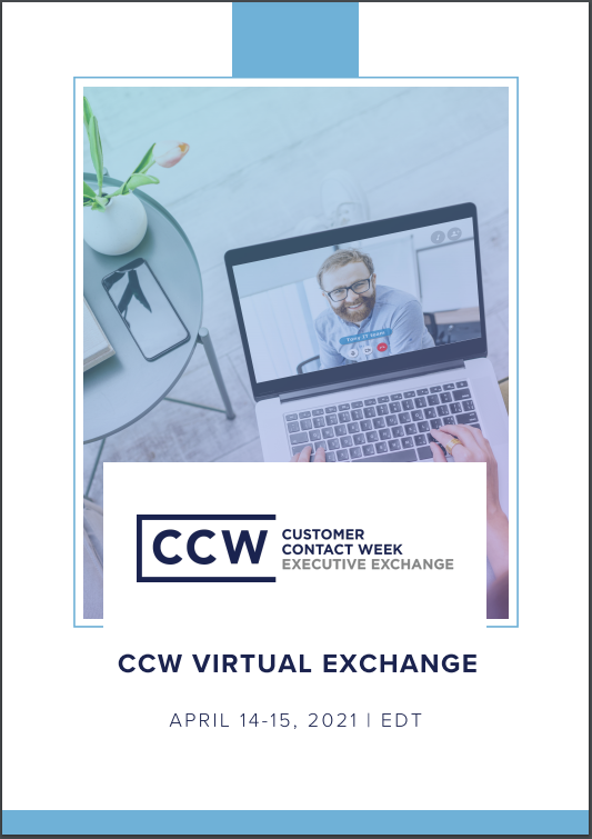 View Event Agenda | CCW Virtual Exchange April 2021