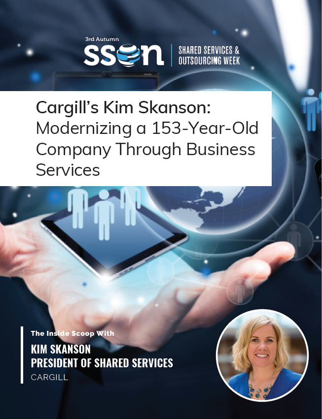 Cargill's Kim Skanson: Modernizing a 153-Year-Old Company Through Business Services