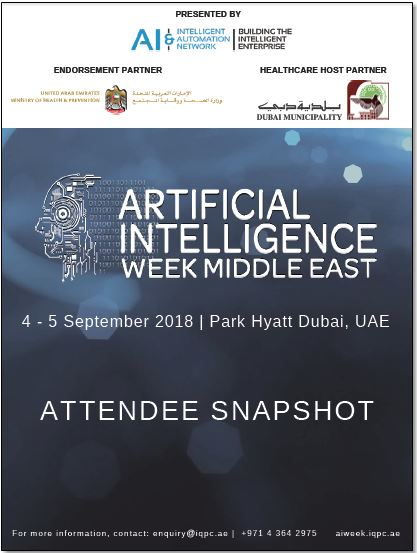 Attendee Snapshot: Artificial Intelligence Week Middle East