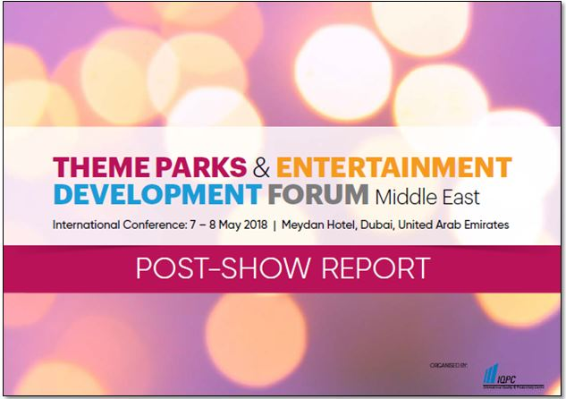 Post-show report: 4th Theme Parks and Entertainment Development Forum
