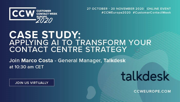 Applying AI To Transform Your Contact Centre Strategy