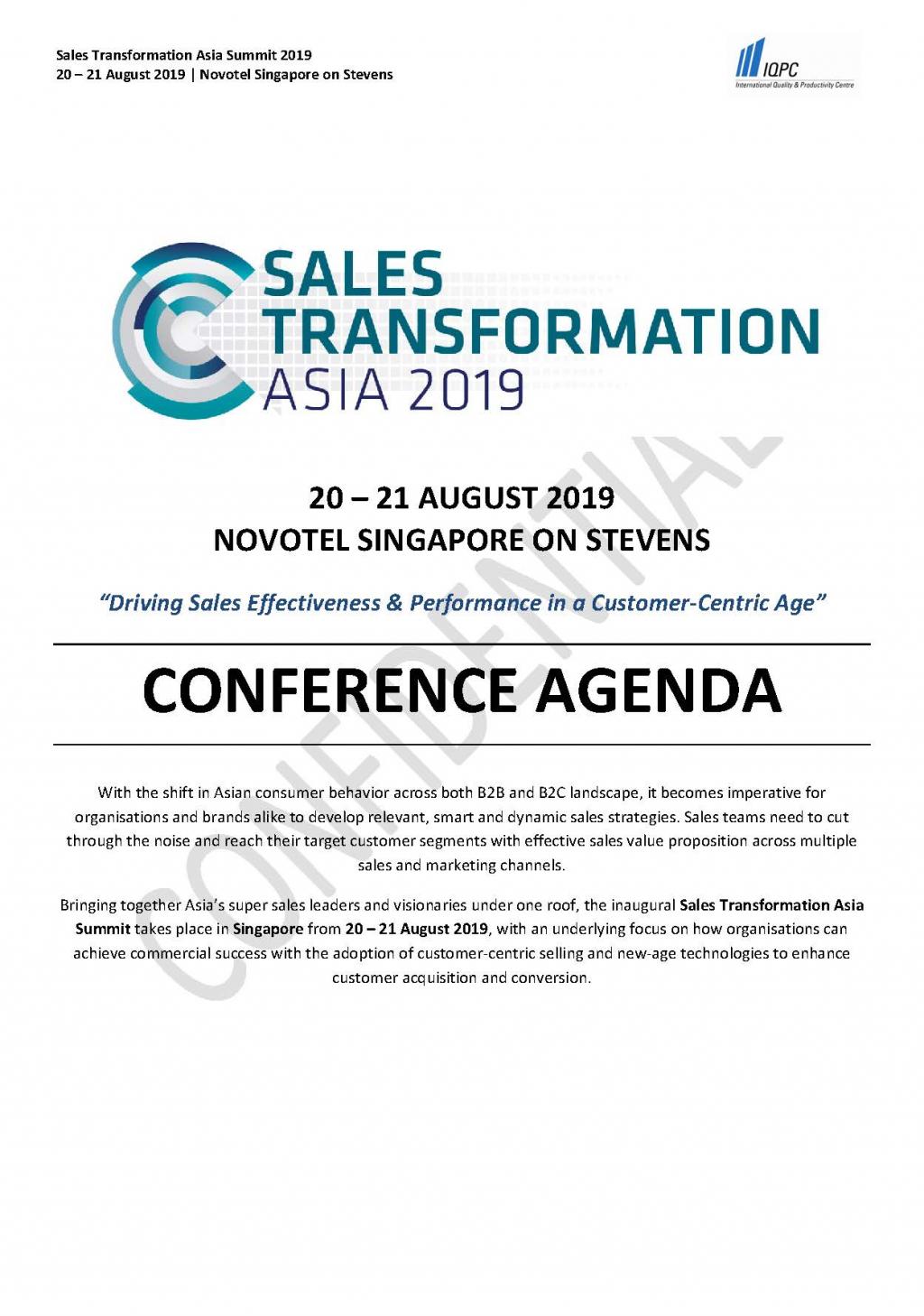 Sales Transformation Asia 2019 » PDF