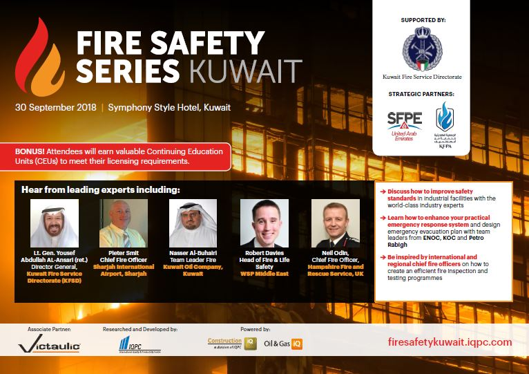 Fire Safety Series Kuwait - Agenda