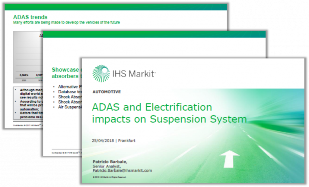 IHS Markit Presentation: ADAS and Electrification Impacts on Suspension Systems